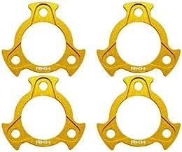 Rakon Closeout CNC AL Motor Mount Ring Set - Sky-Hero Anakin Gold