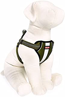 KONG Reflective Dog Harness Green Small