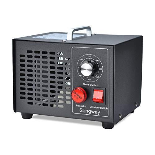Sterilizzatore d'aria per rimozione odori generatore di ozono commerciale Songway, 3500mg/h per casa, cucina, auto, garage, autobus, barca, ristorante, negozio, purificatore d'aria