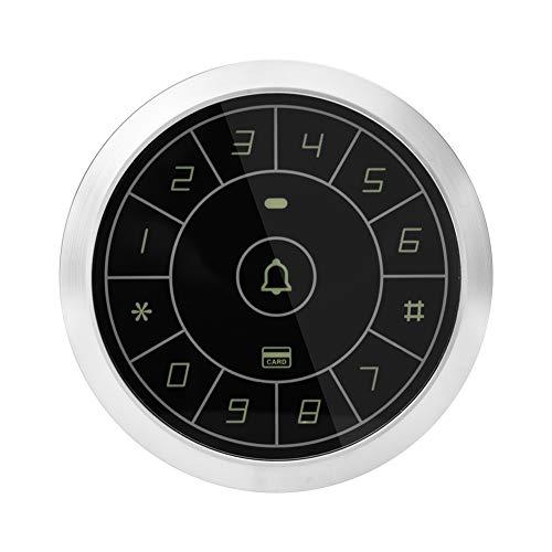 Eigenständige-RFID-Zugriffskontrolle, Runder Codeschloss Türöffner, Berühren Passwort Tastatur für die Sicherheit von Heim- / Büro-Türsprechanlagen