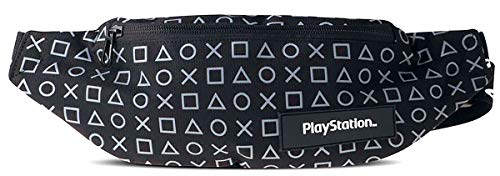 Playstation Button Symbols Unisex Gürteltasche Standard Polyester Fan-Merch, Gaming, Retrogaming