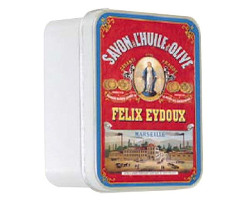 境界十一フェリールブランソープ メタルボックス(マルセイユソープ?オリーブの香り)石鹸