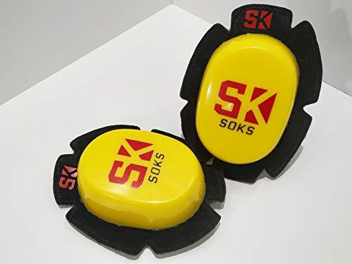 SOKS Deslizaderas para mono | RACE Amarillo Básico