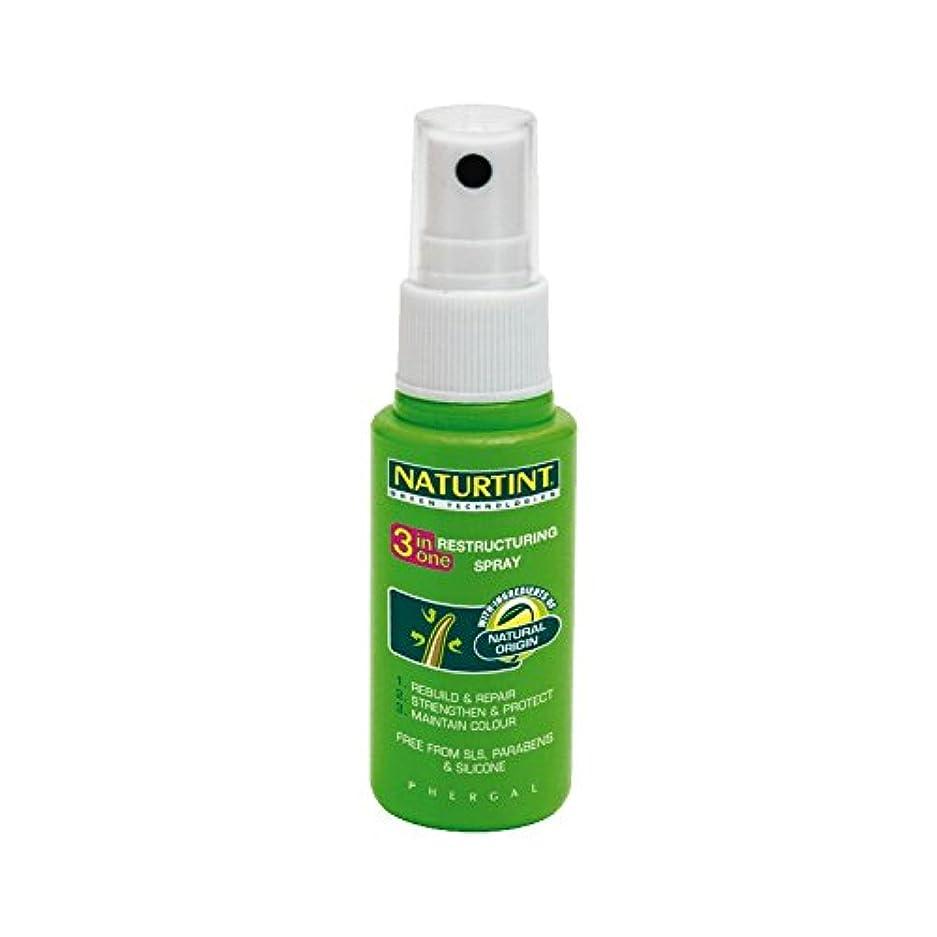 ダンプ後者守る1リストラスプレーでNaturtint 3 - Naturtint 3 in 1 Restructuring Spray (Naturtint) [並行輸入品]