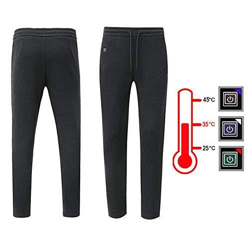 Pantalon Termico Mujeres Hombre,elásticos Pantalones Calefactables,Pantalones Calefactores USB...