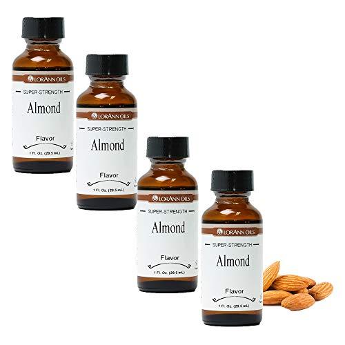 LorAnn Almond Super Strength Flavor, 1 ounce bottle