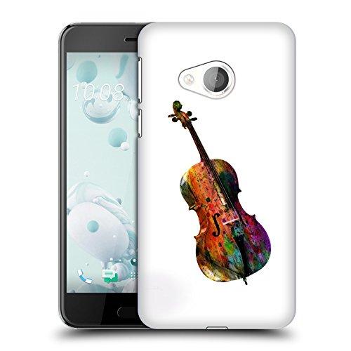 Head Hülle Designs Offiziell Zugelassen Mark Ashkenazi Violoncello Musik Harte Rueckseiten Handyhülle Hülle Huelle kompatibel mit HTC U Play/Alpine