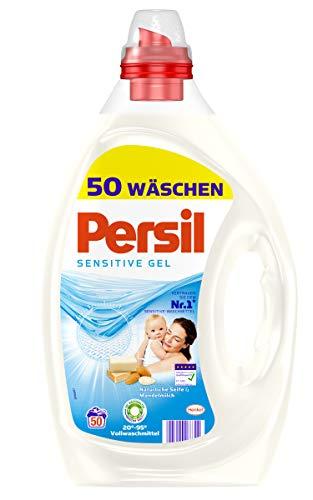Persil Sensitive-Gel Mandelmilch 50 Waschladungen 2.5l
