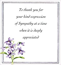 Bereavement thank you notes lovely wording examples thank you note for spiritual counsel altavistaventures Gallery