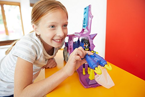 DC Super Hero Girls DVG94 - Batgirl Mission Vehicle - DC Comics Headquarters Truck