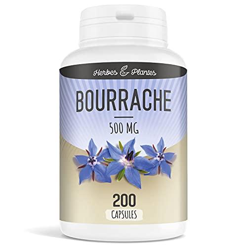 Herbes Et Plantes Bourrache 200 Capsules...