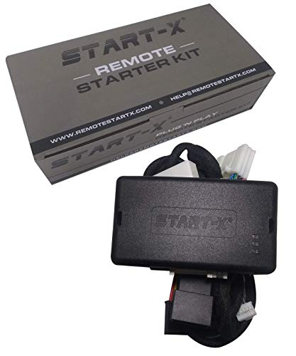 Start-X Plug N Play Remote Start Starter for Highlander 2014-2019, C-HR 2018-2019, Land Cruiser 2016-2018 || Push to Start Vehicles Only || Lock 3X to Remote Start