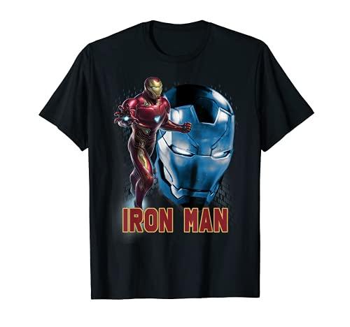 Marvel Avengers Endgame Iron Man Side Profile Graphic Tee