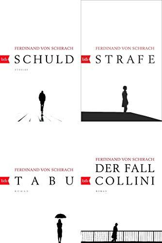 Ferdinand von Schirach 4 Bücher im Set + 1 exklusives Postkartenset