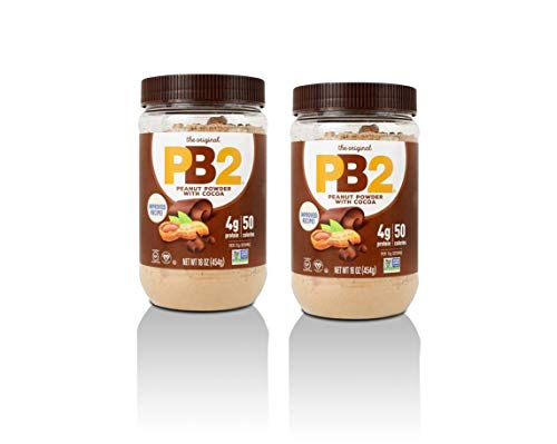 PB2 Chocolate Powdered Peanut Butter 908g (2 x 454g)