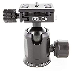 Dolica Upgraded Professional Dual Knob Ball Head, 17 lbs Load Capacity