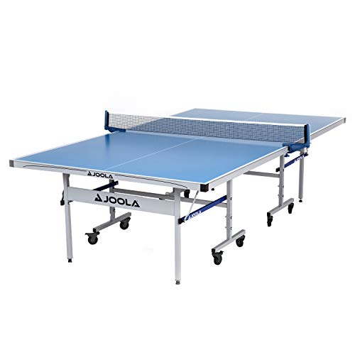 JOOLA NOVA DX Table Tennis Table with Waterproof Net Set | All Weather Aluminum Composite Ping Pong Table for Tournament Quality Play | Indoor & Outdoor Compatible | 10 Minute Easy Assembly