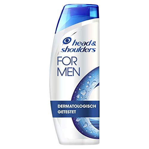 Head & Shoulders For Men Anti Schuppen Shampoo, Shampoo gegen Schuppen, Juckreiz, Trockene Kopfhaut, Haarpflege, Kopfhautpflege, Bis Zu 100{3db35251811e8537f437ed24f396fba3518d6a3237dcf95e65525dd23c94badf} Schuppenfreies Haar, Shampoo Herren, Für Männer, 300 ml
