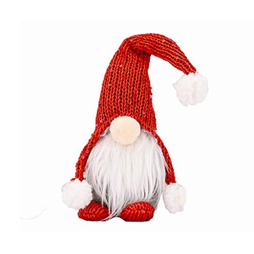 MRULIC Ostern Weihnachten Deko Wichtel Weihnachtsmann Festliche Geschenke Ostern Weihnachten Tischdekoration Basteln Deko Weihnachtliche Wichtel Deko FüR Kinder Familie Festliche Geschenk(A3)