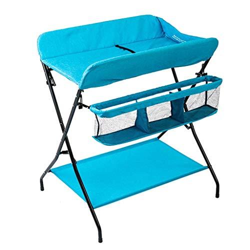 LZQBD Family Care/Baby Dresser Wickeltisch Babywickelstation mit Badewanne Tragbarer Ändern Tray Travel Baby Änderungstabelle Faltbare Baby Dresser ändern Pad und Haltegurt (Size : B)
