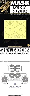 HGW 1/32 Scale Masks for LVG C.VI for Wingnut Wings 632002