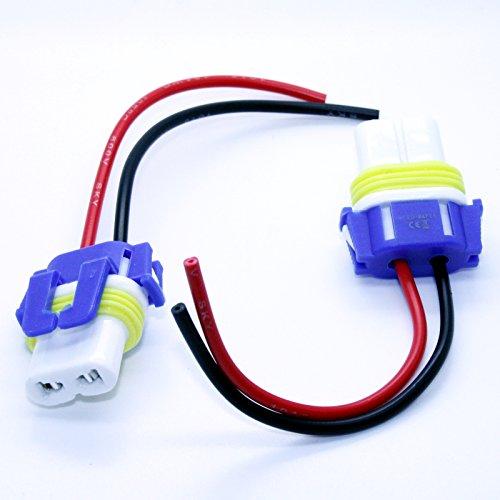LED-Mafia 2X HB4 9006 P22d LAMPENFASSUNG Halogen Lampen Fassung Keramik Stecker Kabel Sockel 12V