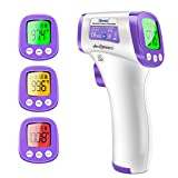 Non-Contact Infrared Thermometer,Forehead Thermometer (Purple)