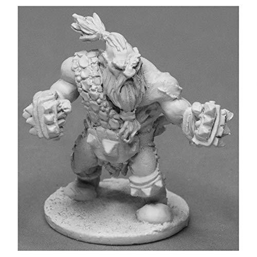Reaper Miniatures Hanrik, Dwarf Pugilist #03948 Dark Heaven Unpainted Metal Mini