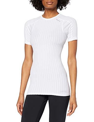 Craft Active Extreme 2.0 sous-vêtement col Rond Manches Courtes Femme, Blanc, FR (Taille Fabricant : 42: XL)