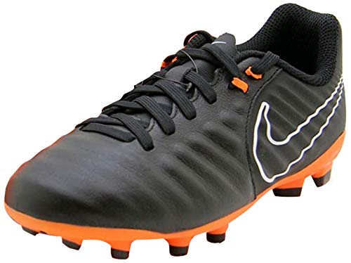 Nike Unisex-Kinder JR Legend 7 Academy FG Fitnessschuhe, Mehrfarbig (Black/Total Orange-b 080), 37.5 EU