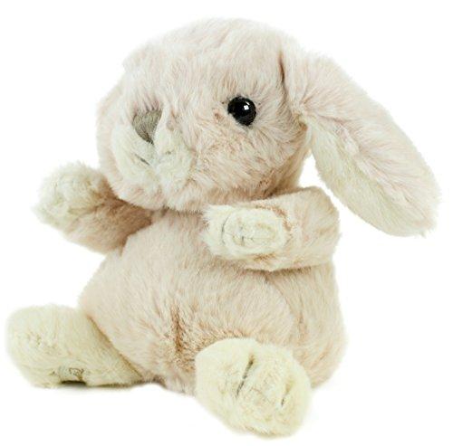 Bukowski Kuscheltier Hase Kanini, 14 cm, palepink sitzend Plüschhase Kuschelhase