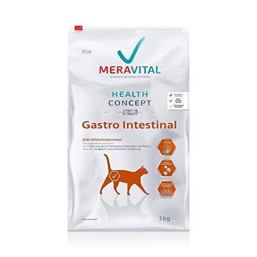 MERAVITAL Gastro Intestinal Katzenfutter trocken 3 kg für Katzen bei...