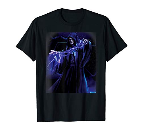 Star Wars Emperor Palpatine Darth Sidious Force Lightning T-Shirt