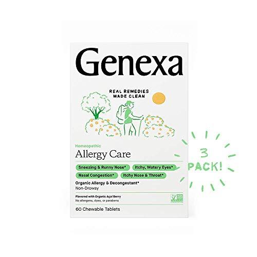 Genexa Allergy Care - 180 Tablets (3pk) -...