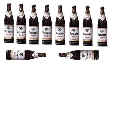 10 Flaschen Vormann Malzbier (mit Alkohol) 1,5% a 500ml inc. MEHRWEG Pfand