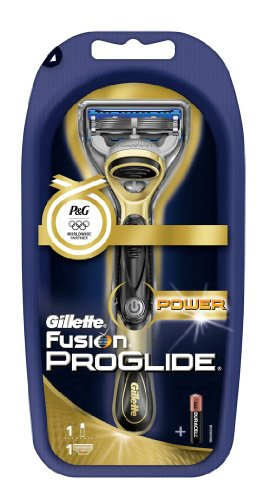 Alte Version – Gillette Rasierer Fusion Proglide Power Gold – LIMITED EDITION