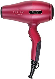 Steinhart Air Flow, Secador de pelo (Rojo, 2100 W) - 1 unidad