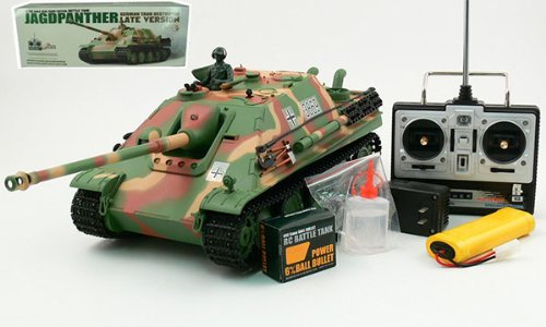 in budget affordable HENG LONG1 / 16 RC German Jagdpanther Tank Destroyer Airsoft RC Battle Tank and Sound &…
