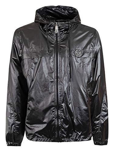 PHILIPP PLEIN Luxury Fashion Uomo MRB1424PTE003N02 Nero Poliestere Giacca Outerwear | Primavera-Estate 20