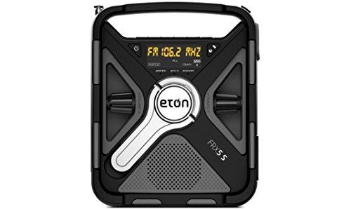 eton weather radios Eton FRX5 Hand Crank Emergency Weather Radio with SAME, NFRX5SWXBG