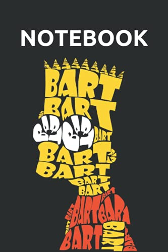 Bart Simpsons Notebook: Perfect Journal Or Diary For Simpson Fans To Write Ideas, Info, Lists And Thoughts