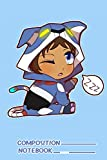 Chibi Voltron Onesie Lance Notebook: (110 Pages, Lined, 6 x 9)
