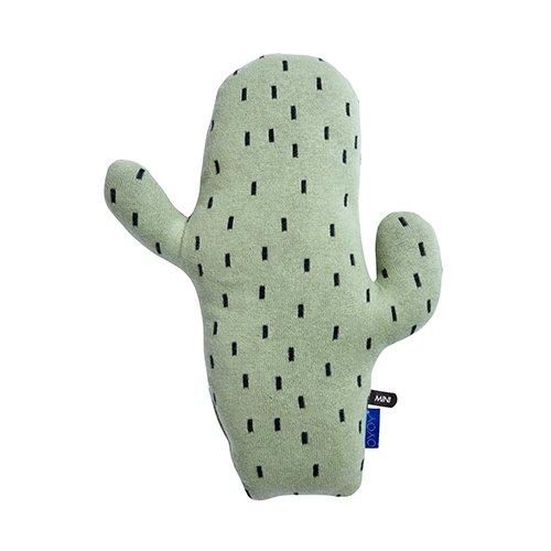 OYOY Kaktus Kissen Deko für das Babyzimmer und Kinderzimmer - Kinderkissen aus Baumwolle, Weich, 38x28 cm Klein - 1100812