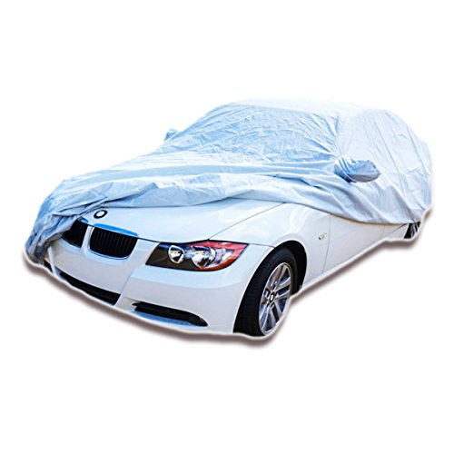 "Formosa Covers BMW 3 Series M3 Car Cover Deluxe Custom Fit for 2007-2020 Models. All Weather Protection with Window Pockets - Outdoor and Indoor Storage 182"" L"