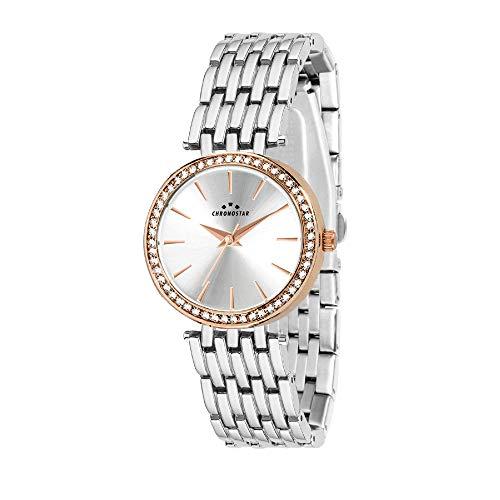 CHRONOSTAR Orologio Analogico Quarzo Donna con Cinturino in Acciaio Inox R3753272507