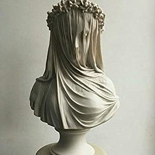 THE VEILED LADY statue, veiled woman statue