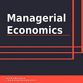 Managerial Economics audiobook cover art