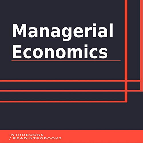Couverture de Managerial Economics