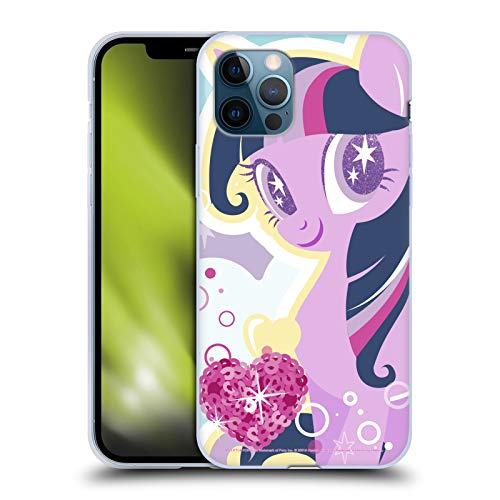 Head Case Designs Officially Licensed My Little Pony Twilight Sparkle Sugar Crush Soft Gel Case Compatible with Apple iPhone 12 / iPhone 12 Pro