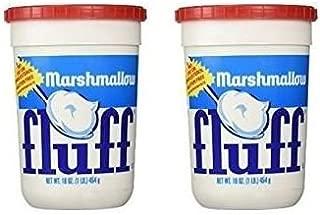 Marshmallow Fluff 16 oz Plastic Tub (Pack of 2)